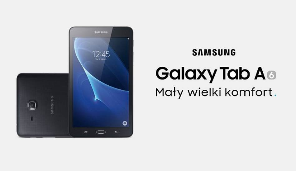 Samsung galaxy tab a7 0 spotted online for Housse galaxy tab a6