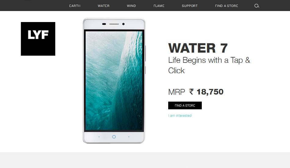 Lyf flame 2 wind 4 water 7 specs prices revealed