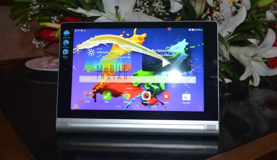 Lenovo Yoga Tablet 2 (8 inch) in Pics