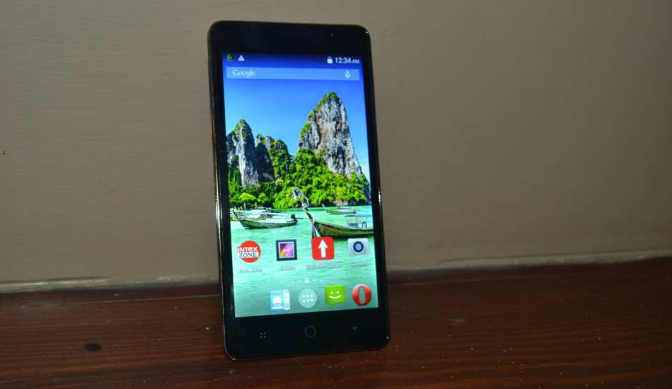Intex Aqua Power in Pics