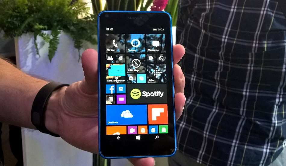 Microsoft Lumia 640 in pictures