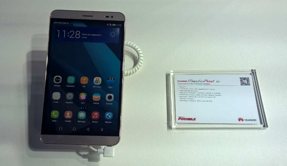 Huawei Mediapad X2 In Pics - An octa core tab with Android Lollipop, 4G