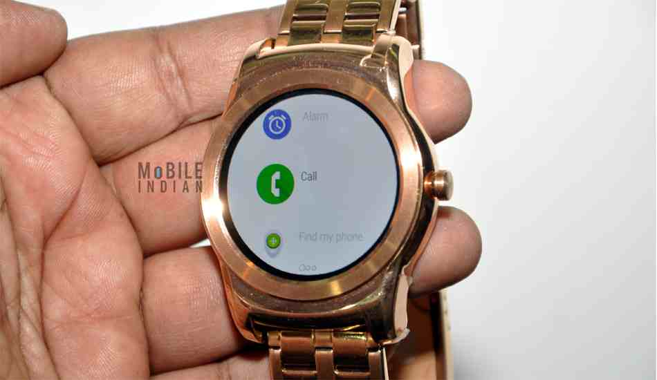LG Watch Urbane In Pics