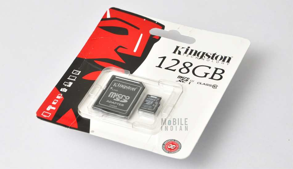 Kingston to launch to 128GB and 64GB microSDXC cards soon in India