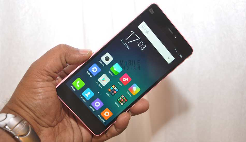 Here's how Xiomi Mi 4i looks from inside