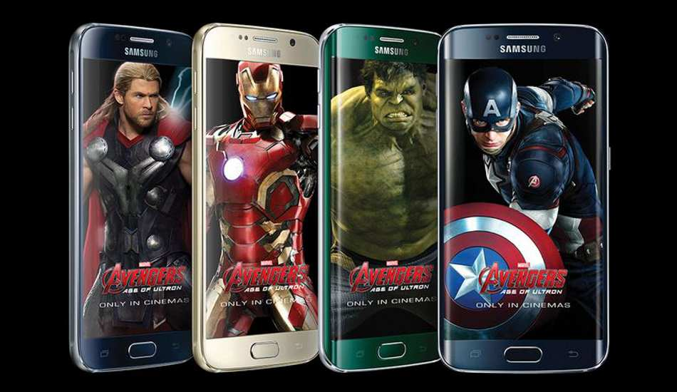 Samsung Galaxy S6 edge Iron Man Limited Edition in pics