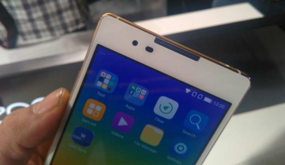 Coolpad Dazen X7 in pics