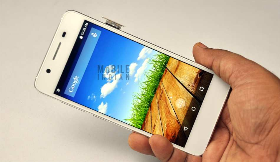 Micromax Canvas Knight 2 in pics