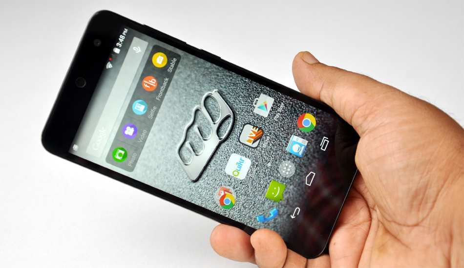 Micromax Canvas Xpesss 2 in pics