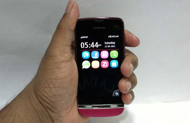 all three new nokia asha 300 series mobile phones bear