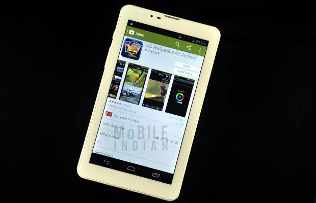 Swipe MTV Slash calling tablet review