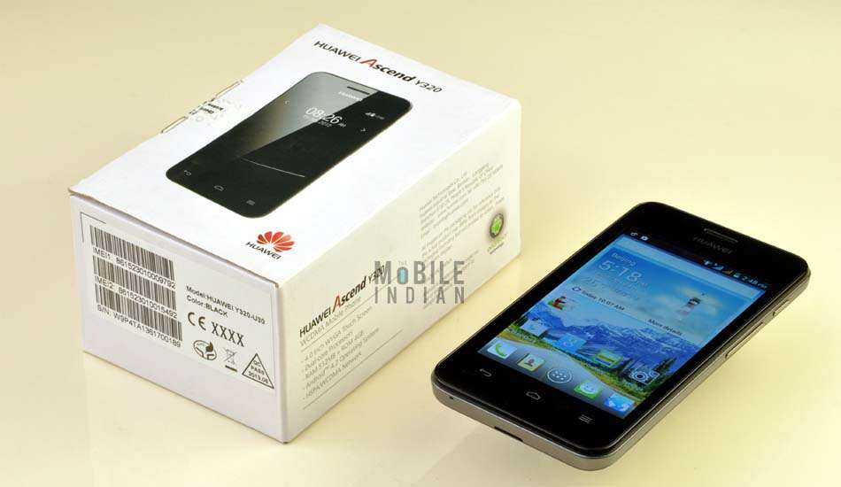 Huawei Ascend Y320 Android smartphone review