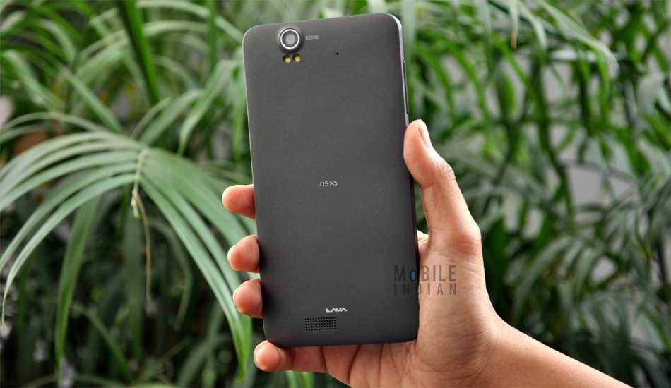 new style 1a0c2 0bb9b Lava Iris X5 Review: Undoubtedly Made For Selfies
