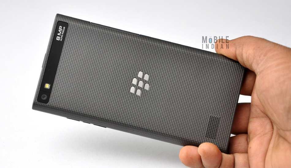 Handleiding blackberry leap