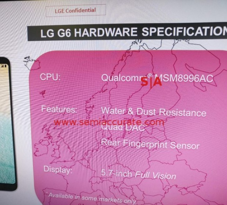 LG G6 to come with improved Quad DAC and Snapdragon 821 chipset