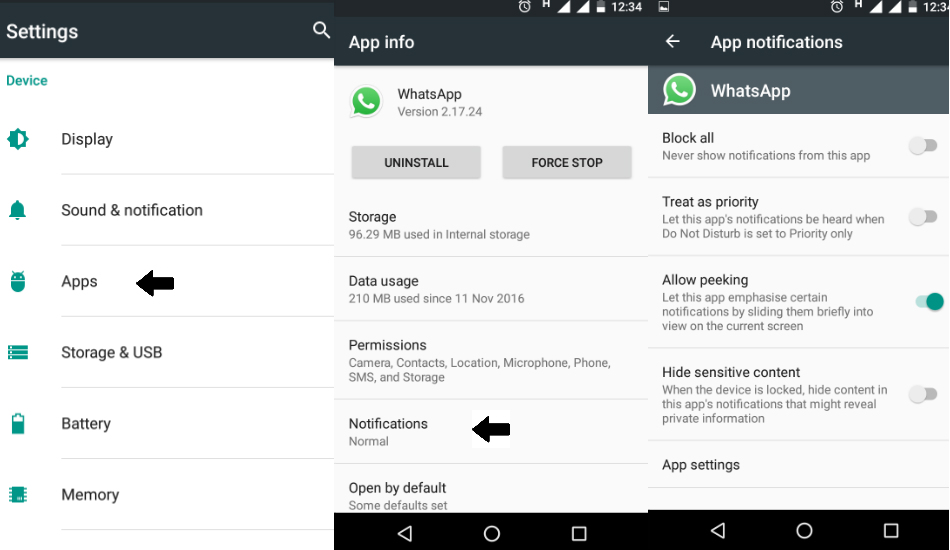 How to disable troublesome notifications from any app in Android