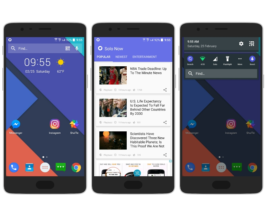 Top 5 Android Launchers you should try