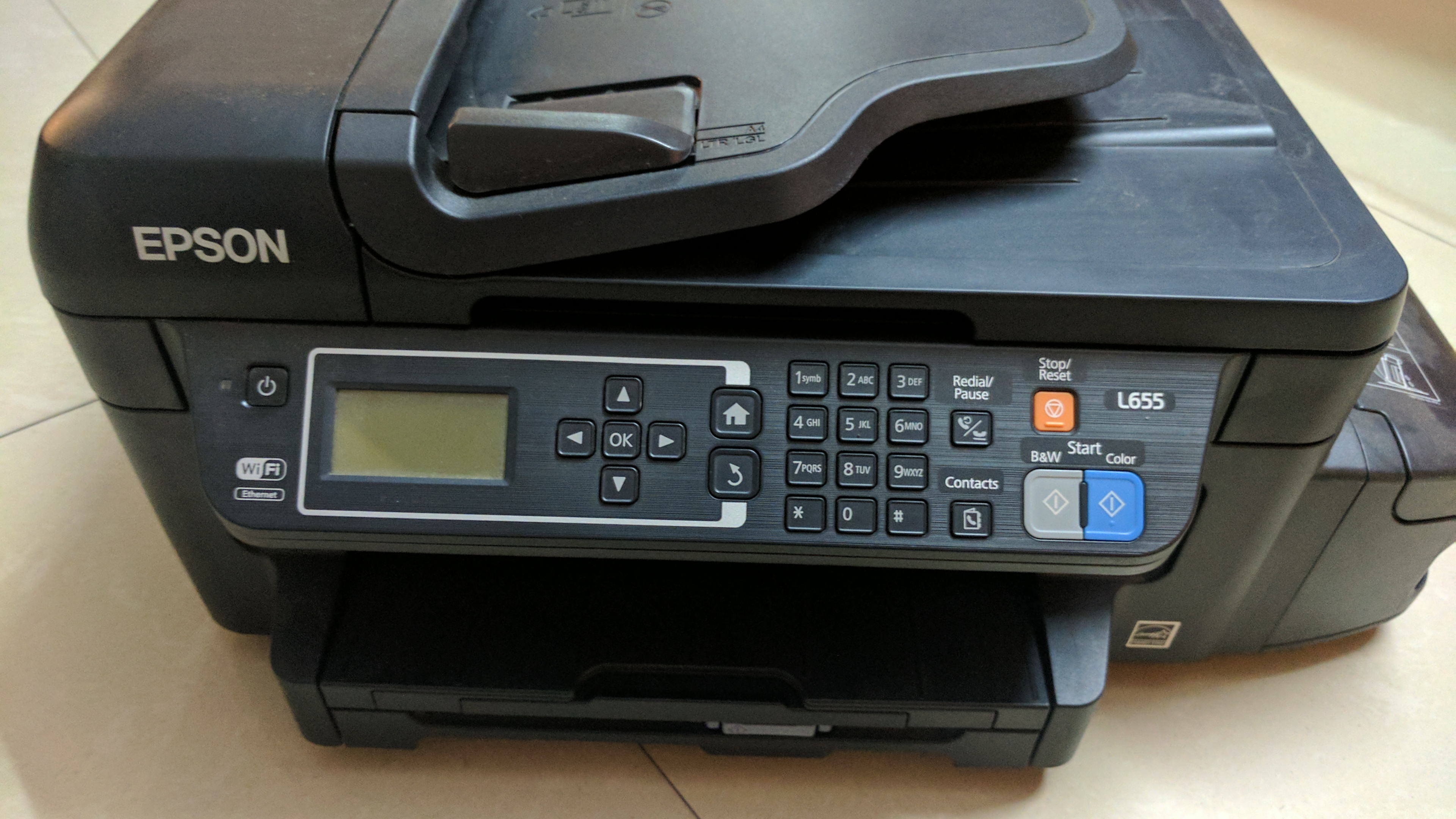 Epson L655 printer Review: An all in one printer that will