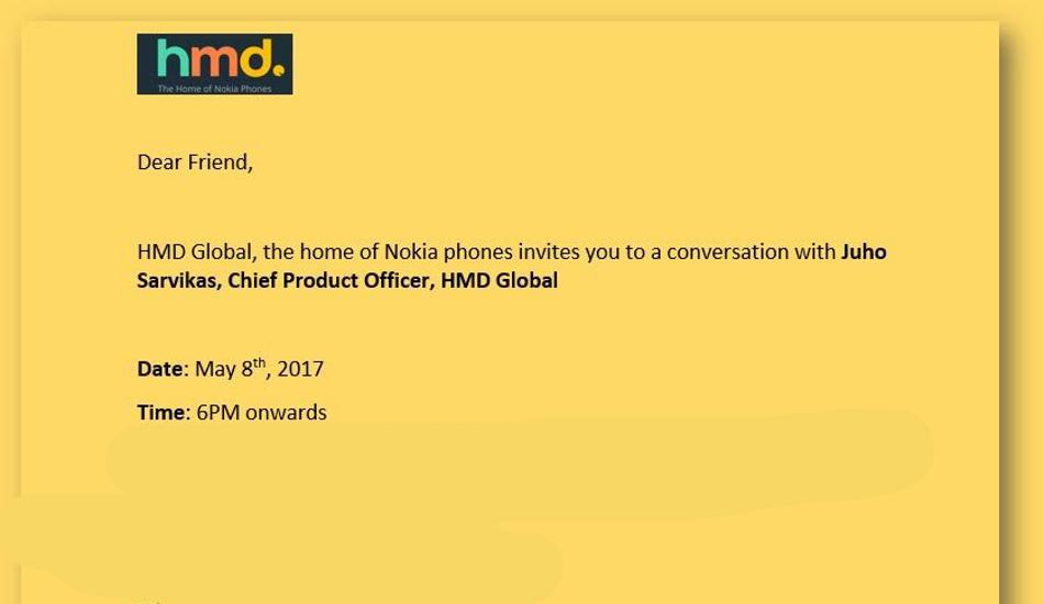 Nokia 3,Nokia 3310,Nokia 5,Nokia 6,India,Smartphone,Chief Product Officer,launch,schedule