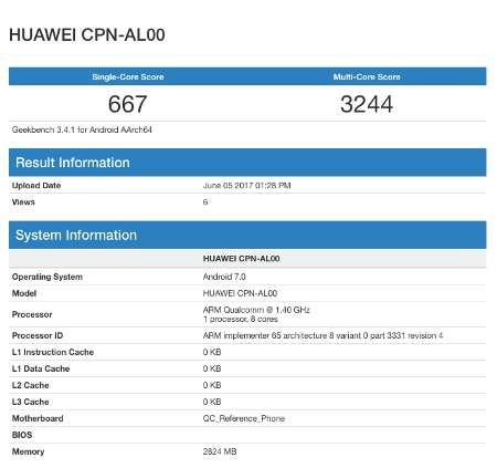 Huawei CPN-AL00