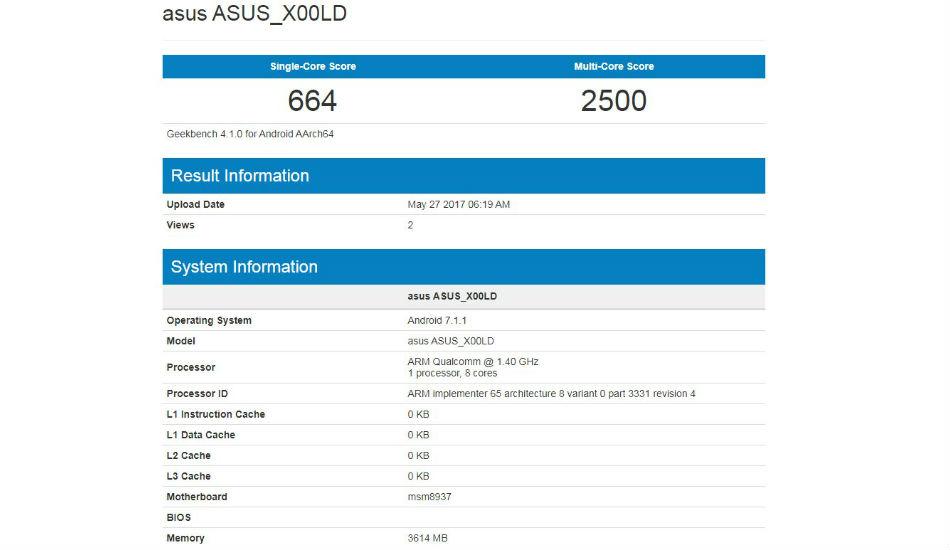 Asus X00LD