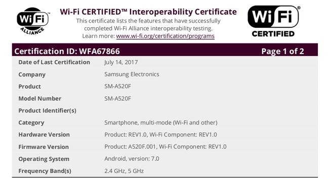 Samsung Galaxy A5 (2017) and A7 (2017)