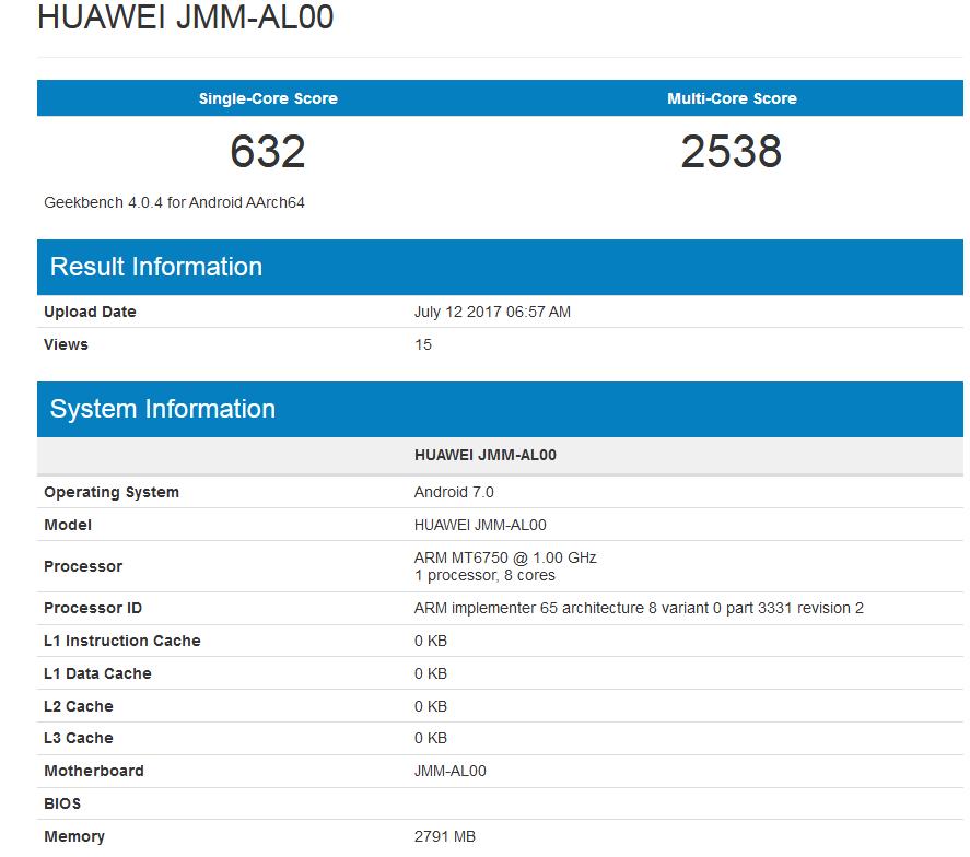 Huawei JMM-AL00