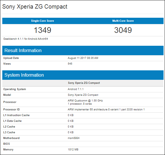 Spotted: Sony's Xperia ZG Compact to carry Snapdragon 810
