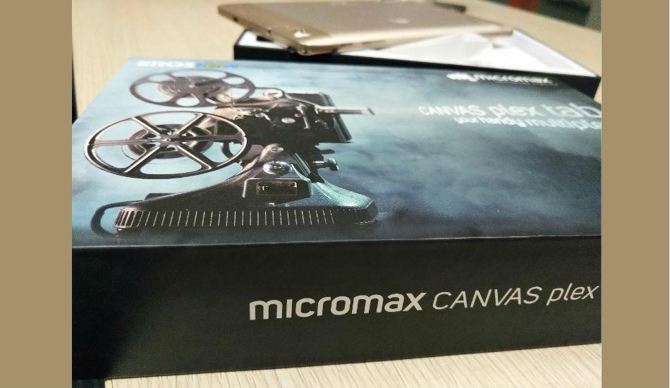 Micromax Canvas Plex