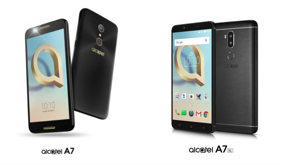 Alcatel A7 and A7 XL