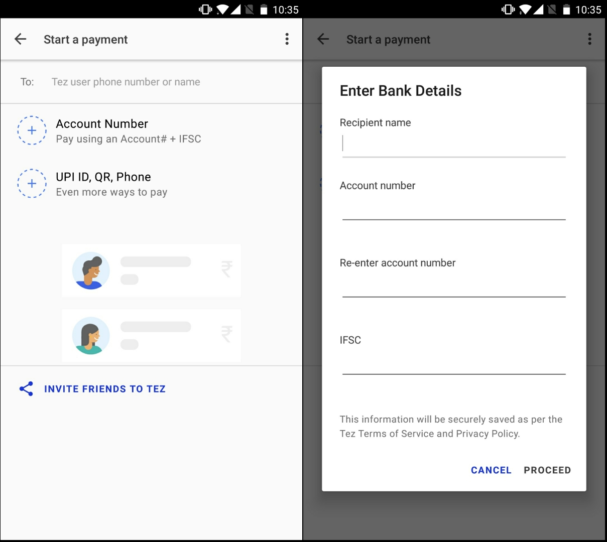 How to set up and make payments with Google Tez?