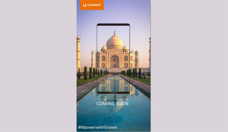 Gionee to announce eight bezel-less smartphones on 26 November in China
