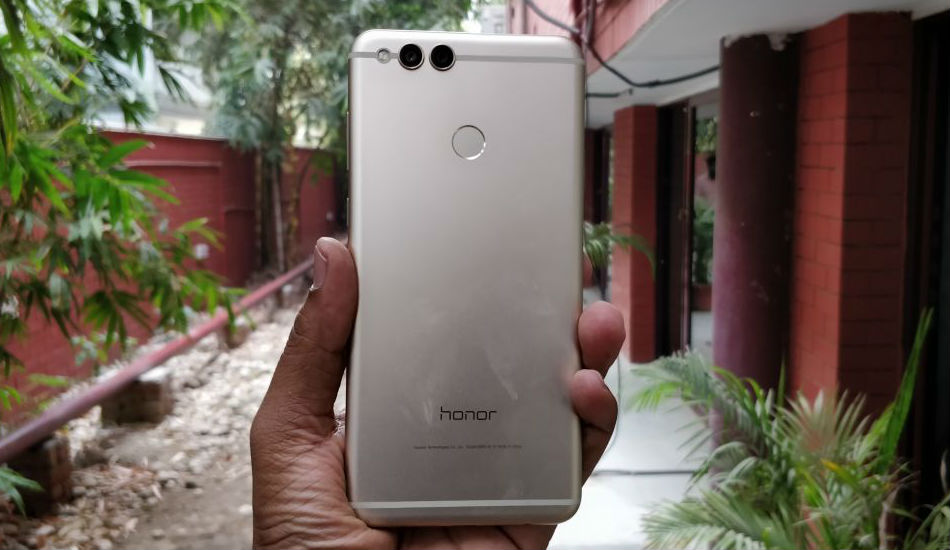 Honor 7X back panel