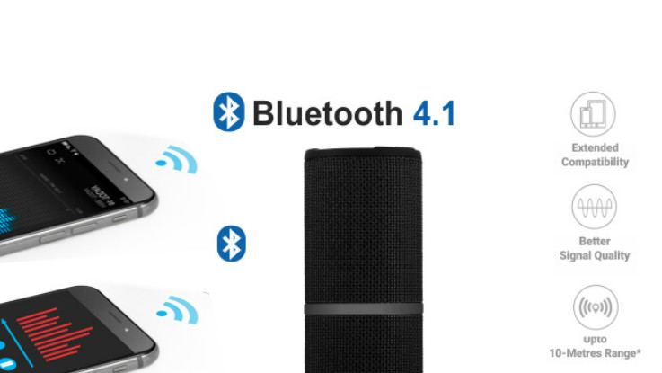 08296e9f4fd Portronics Breeze Bluetooth 4.1 stereo speaker launched in India at ...