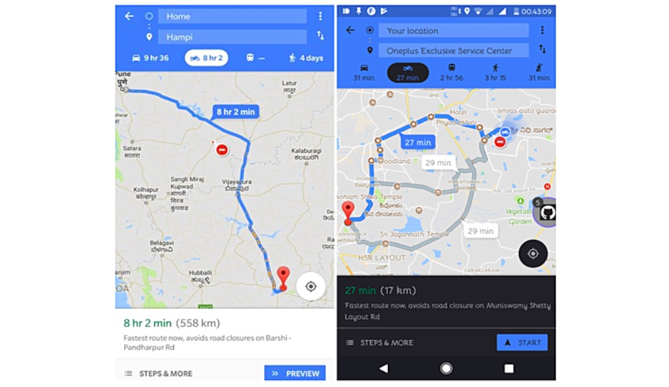 Google will rescue bike-riders caught in traffic jams