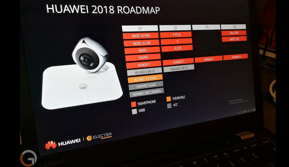 Huawei 2018 Roadmap
