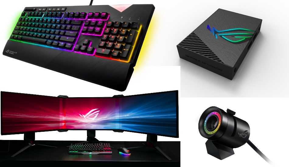 ces 2018 asus republic of gamers unveils its latest gaming lineup. Black Bedroom Furniture Sets. Home Design Ideas
