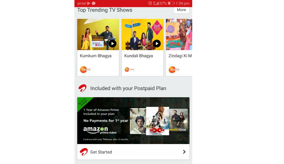 How to avail free Amazon Prime Video subscription using Airtel