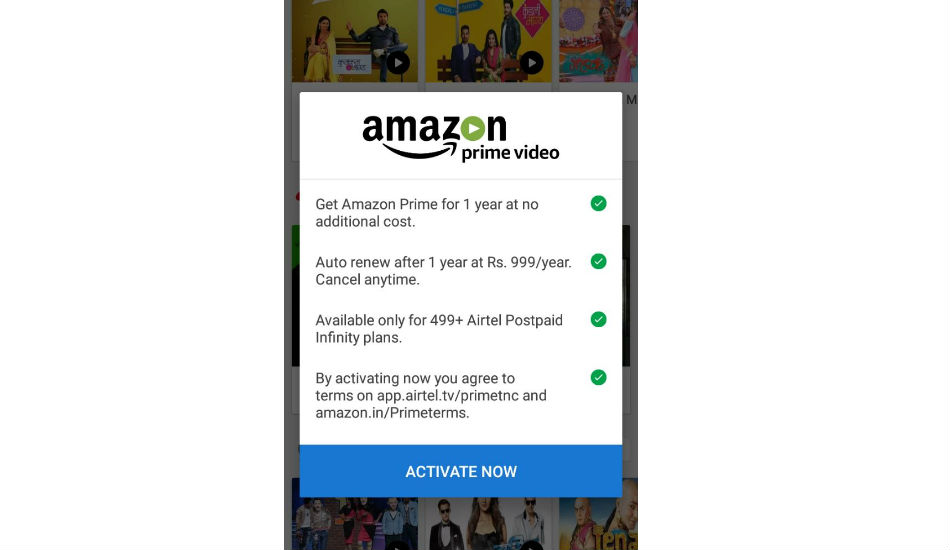 How to avail free Amazon Prime Video subscription using