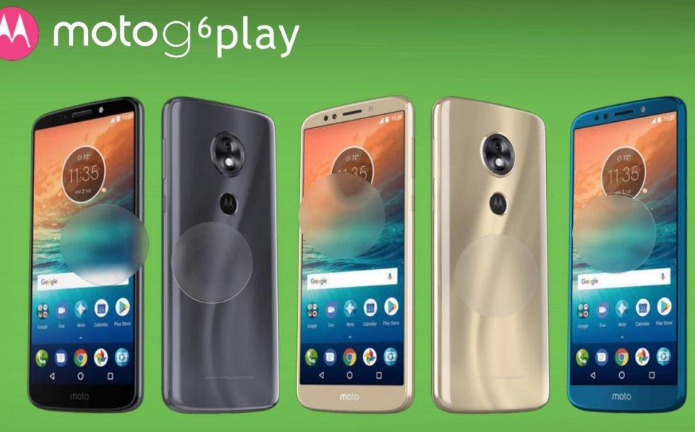 Motorola Moto G6 Plau
