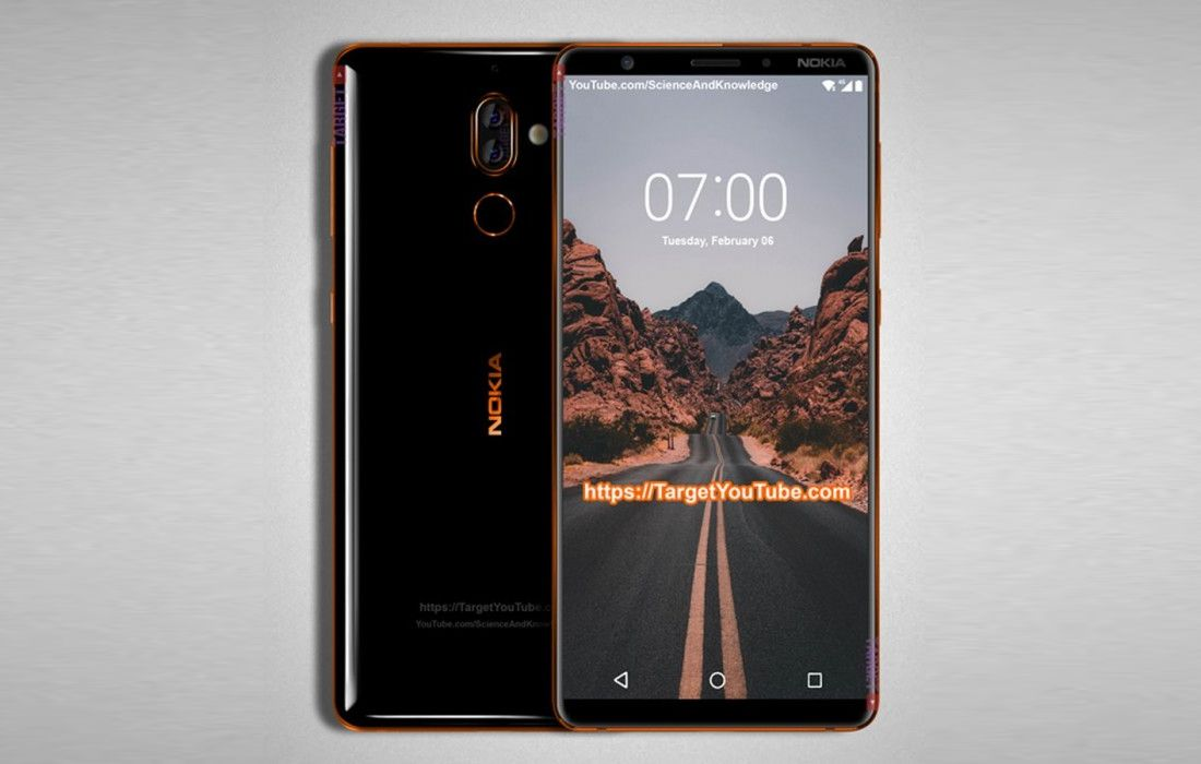Nokia 7 Plus Renders Leaked Shows Thin Bezels And Dual