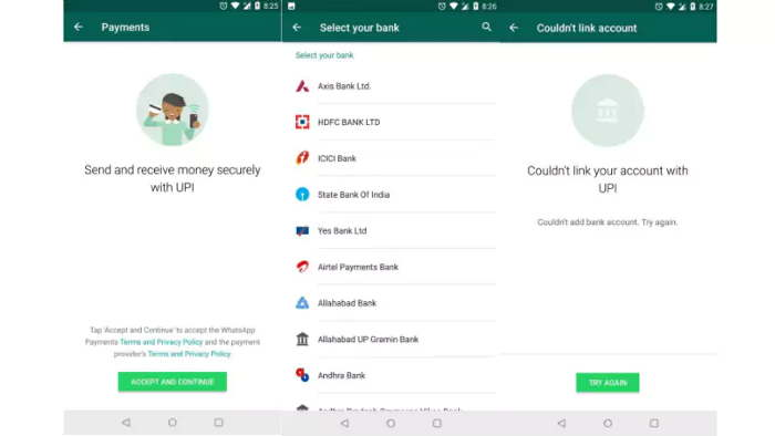WhatsApp Payments is rolling out in India with Beta testing