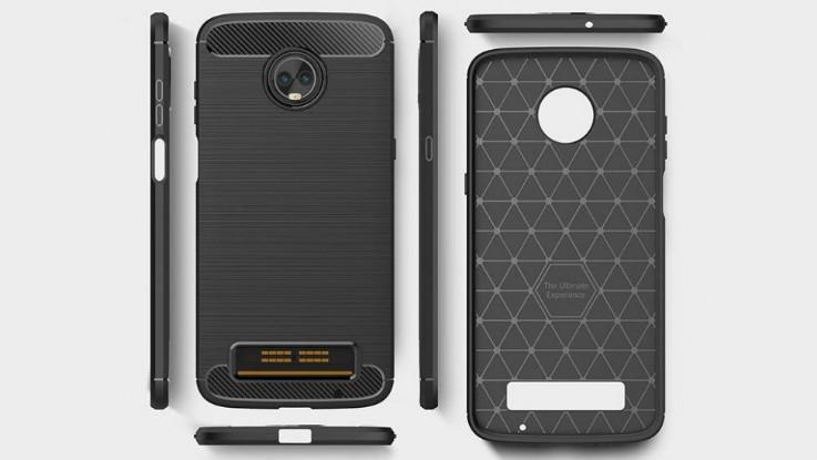 Moto Z3 Play case renders leak reveal dual rear cameras ...