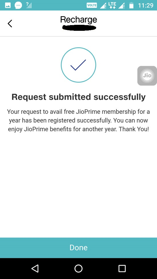 How to extend Jio Prime membership for free