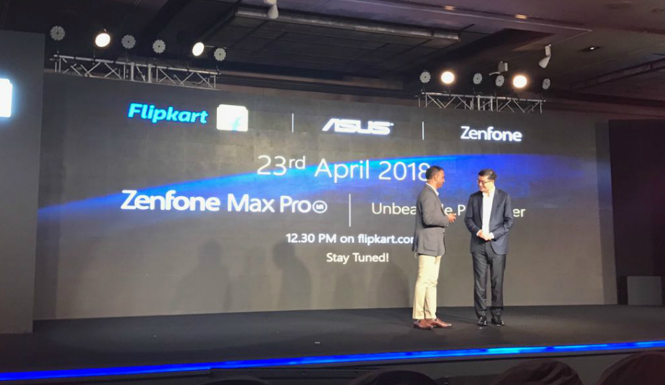 Flipkart and Asus announce partnership, Zenfone Max Pro landing next week