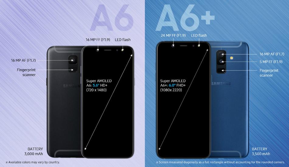 Galaxy A6 & A6 Plus