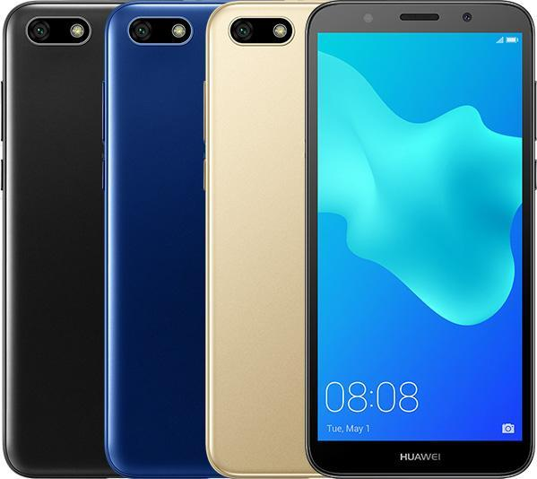 Huawei Y5 Prime (2018) with 5 45-inch HD+ display and