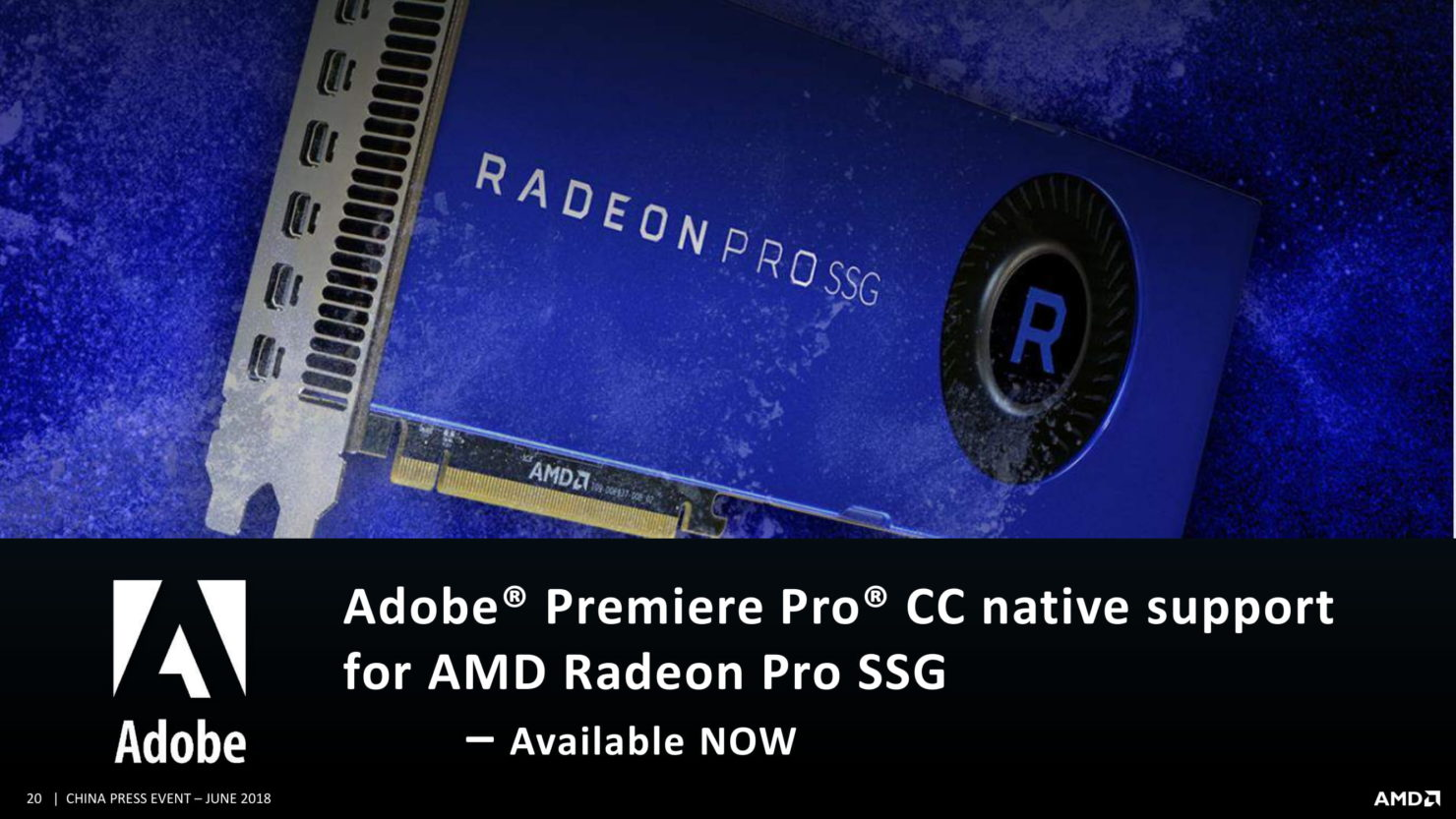AMD Radeon Pro V340 quietly launched with dual-Vega 10 GPU