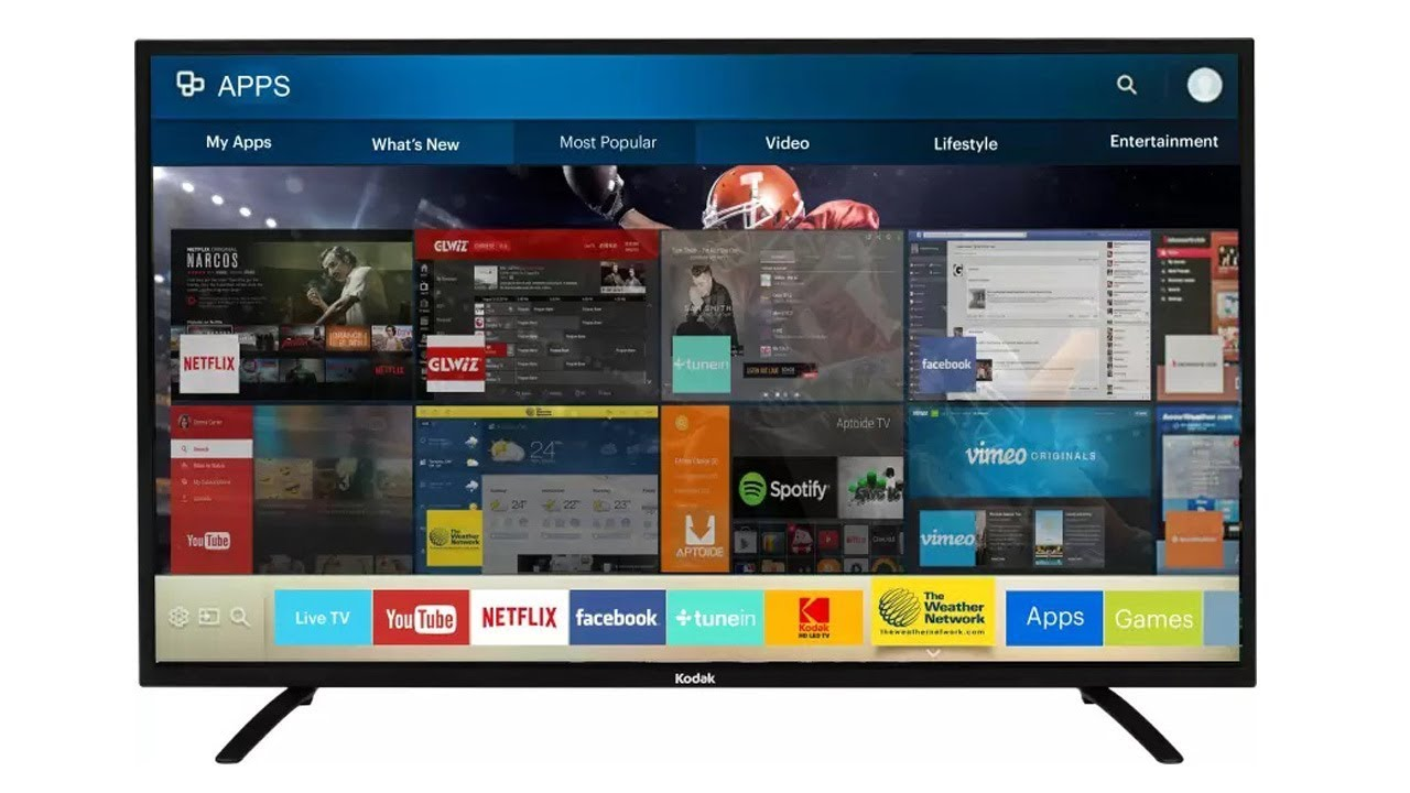 Kodak 50-inch 4K UHD SMART TV