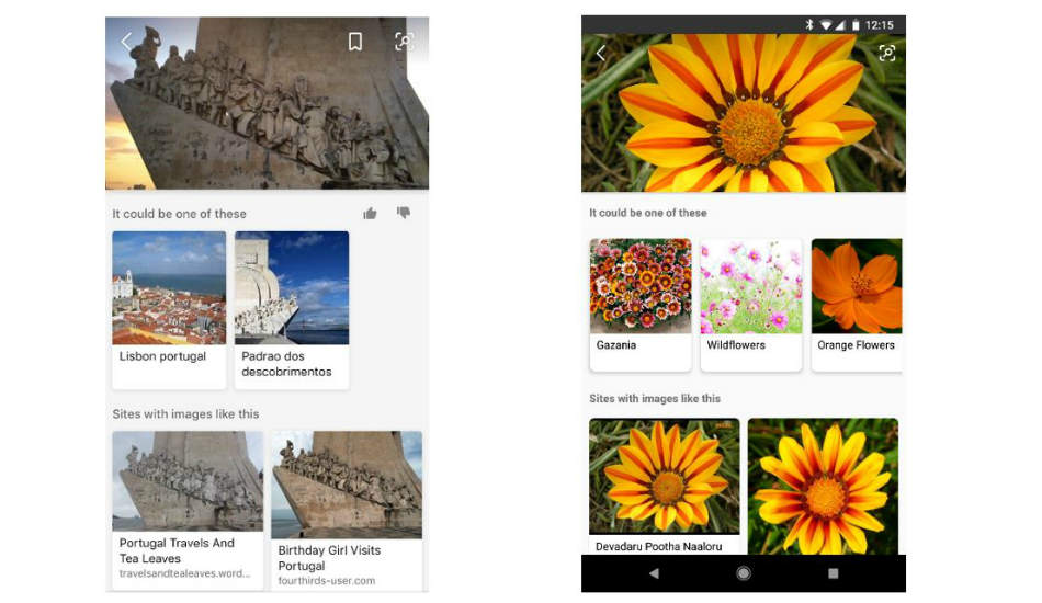 Microsoft Bing Visual Search